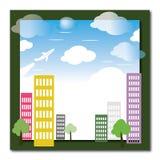 Cidade de Eco Imagem de Stock Royalty Free