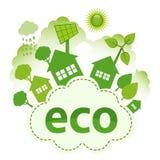 Cidade de Eco ilustração stock