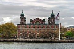 Cidade de Ellis Island Immigration Museum New York Imagem de Stock