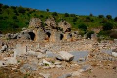 Cidade de Ephesus Turquia fotografia de stock royalty free