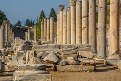 Cidade de Ephesus Turquia fotografia de stock