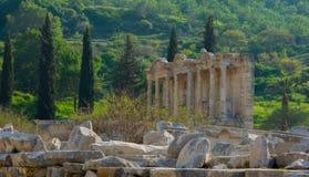 Cidade de Ephesus Turquia foto de stock royalty free