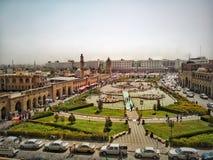 Cidade de Erbil fotos de stock