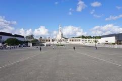 A cidade de Fatima em Portugal central, casa a uma peregrinação católica Fotos de Stock
