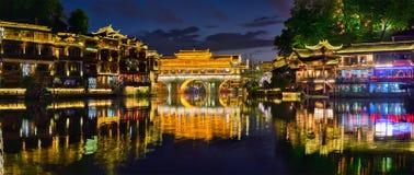 Cidade de Feng Huang Ancient Town Phoenix Ancient, China fotos de stock royalty free