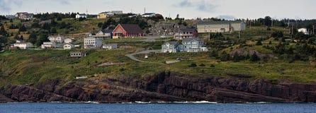 Cidade de Flatrock em Terra Nova e em Labrador Imagem de Stock Royalty Free