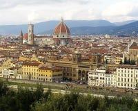 Cidade de Florence Firenze Fotografia de Stock