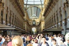 Cidade de Galeria Milão fotografia de stock