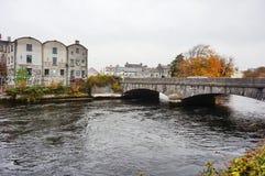 A cidade de Galway, Irlanda fotografia de stock