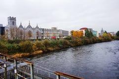 A cidade de Galway, Irlanda fotografia de stock royalty free