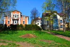 Cidade de Gatchina St Petersburg, Rússia Imagens de Stock Royalty Free