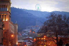 Cidade de Georgia Tbilisi Fotografia de Stock Royalty Free