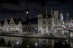 Cidade de Ghent Fotografia de Stock