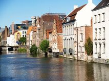 Cidade de Ghent, Bélgica, Europa Fotografia de Stock