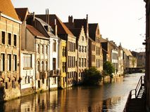 Cidade de Ghent, Bélgica, Europa Fotografia de Stock Royalty Free