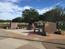 A cidade de Gilbert 9/11 de memorial em Gilbert AZ Imagem de Stock