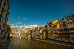 Cidade européia bonita fotos de stock
