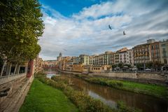 Cidade européia bonita imagens de stock