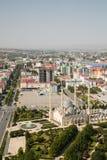 Cidade de Gozny a capital de Chechnya Imagem de Stock Royalty Free