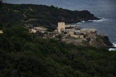 Cidade de Grécia no muntain Foto de Stock