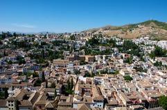 Cidade de Granada imagens de stock royalty free