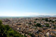 Cidade de Granada fotos de stock royalty free