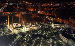 Cidade de Grozniy Foto de Stock Royalty Free