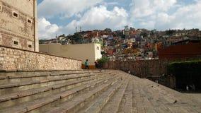 Cidade de Guanajuato da baixa Imagens de Stock