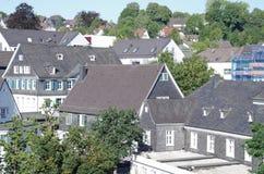 Cidade de Gummersbach, Alemanha Fotografia de Stock