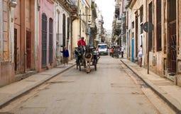Cidade de Habana, velha e famosa Fotografia de Stock Royalty Free