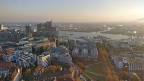 Cidade de Hamburgo Foto de Stock Royalty Free