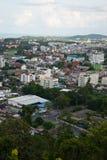 Cidade de Hatyai Tailândia foto de stock royalty free