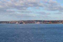 A cidade de Helsingor Foto de Stock Royalty Free
