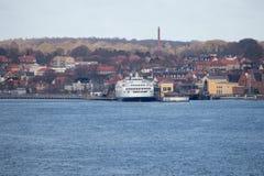A cidade de Helsingor Imagem de Stock