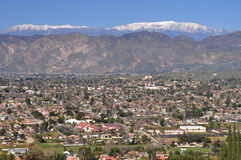 Cidade de Hemet, Califórnia Imagens de Stock