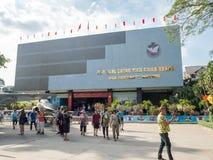Cidade de Ho Chi Minh, Saigon, Vietname sul: [O museu dos restos da guerra da cidade de Ho Chi Minh, comemora a guerra do vietnam Imagens de Stock Royalty Free
