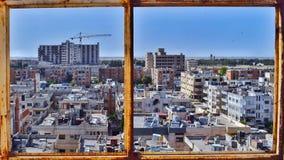 Cidade de Homs em Síria imagens de stock royalty free