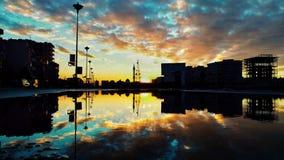 Cidade de Homs em Síria fotografia de stock royalty free