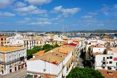 Cidade de Ibiza foto de stock