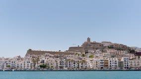 Cidade 2015 de Ibiza foto de stock