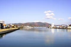 Cidade de Ishinomaki Fotos de Stock Royalty Free