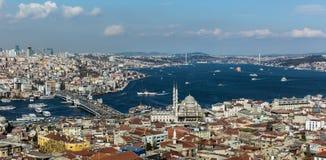 Cidade de Istambul fotografia de stock