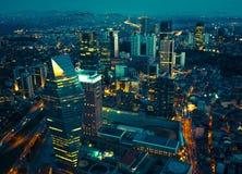 Cidade de Istambul foto de stock