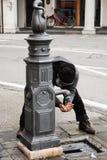 Cidade de Itália, Treviso fotos de stock