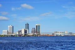 Cidade de Jacksonville foto de stock