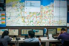 Cidade de Jakarta Smart imagens de stock