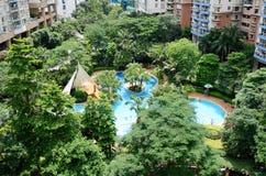 Cidade de jardim Fotografia de Stock