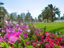 Cidade de jardim Imagens de Stock Royalty Free