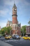 Cidade de Jefferson Market Library New York Fotografia de Stock Royalty Free