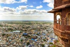 Cidade de Jodhpur, Índia fotos de stock royalty free